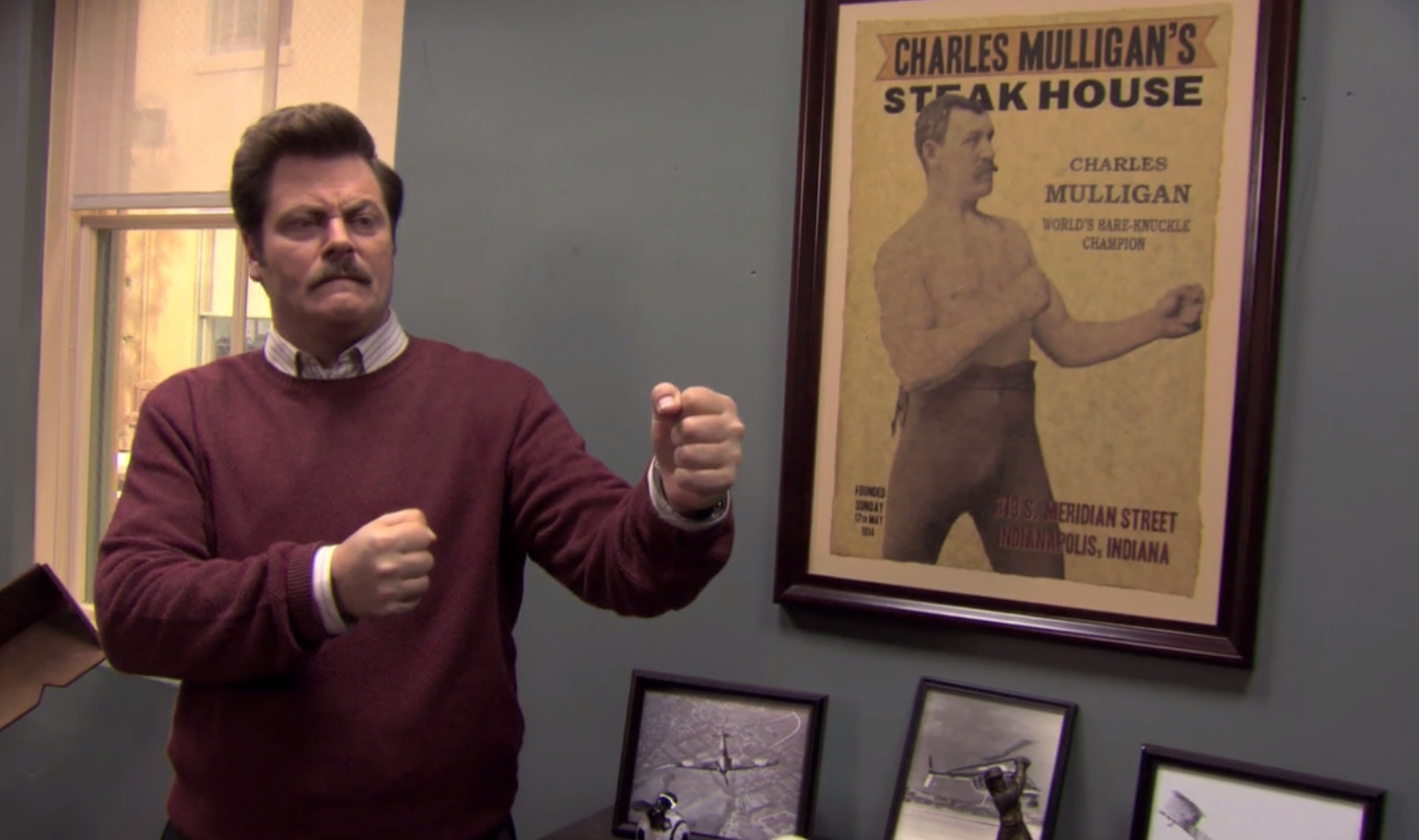 Post Grad Problems Ron Swanson S 21 Greatest Power Moves
