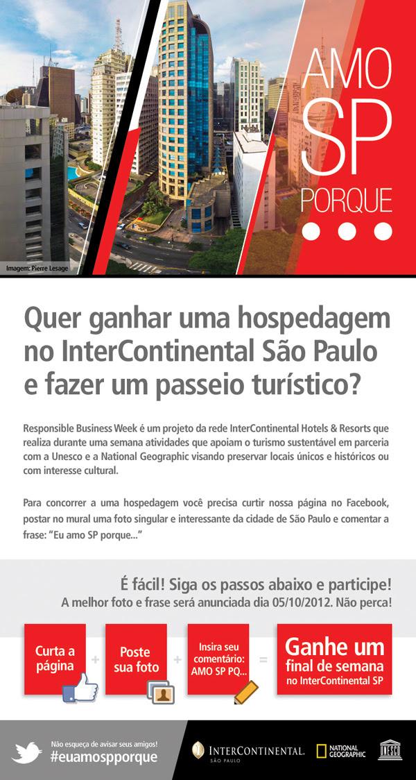 Concurso Cultural Amo Sp Porque São Paulo Antiga