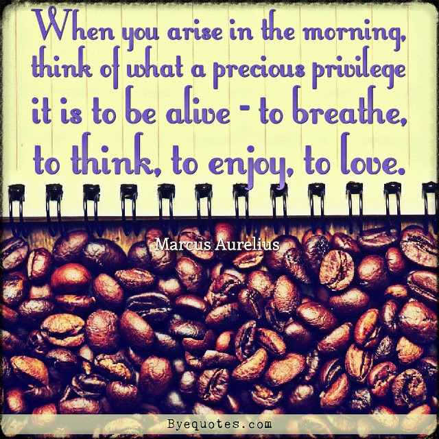 When You Arise Quote By Marcus Aurelius Byequotescom