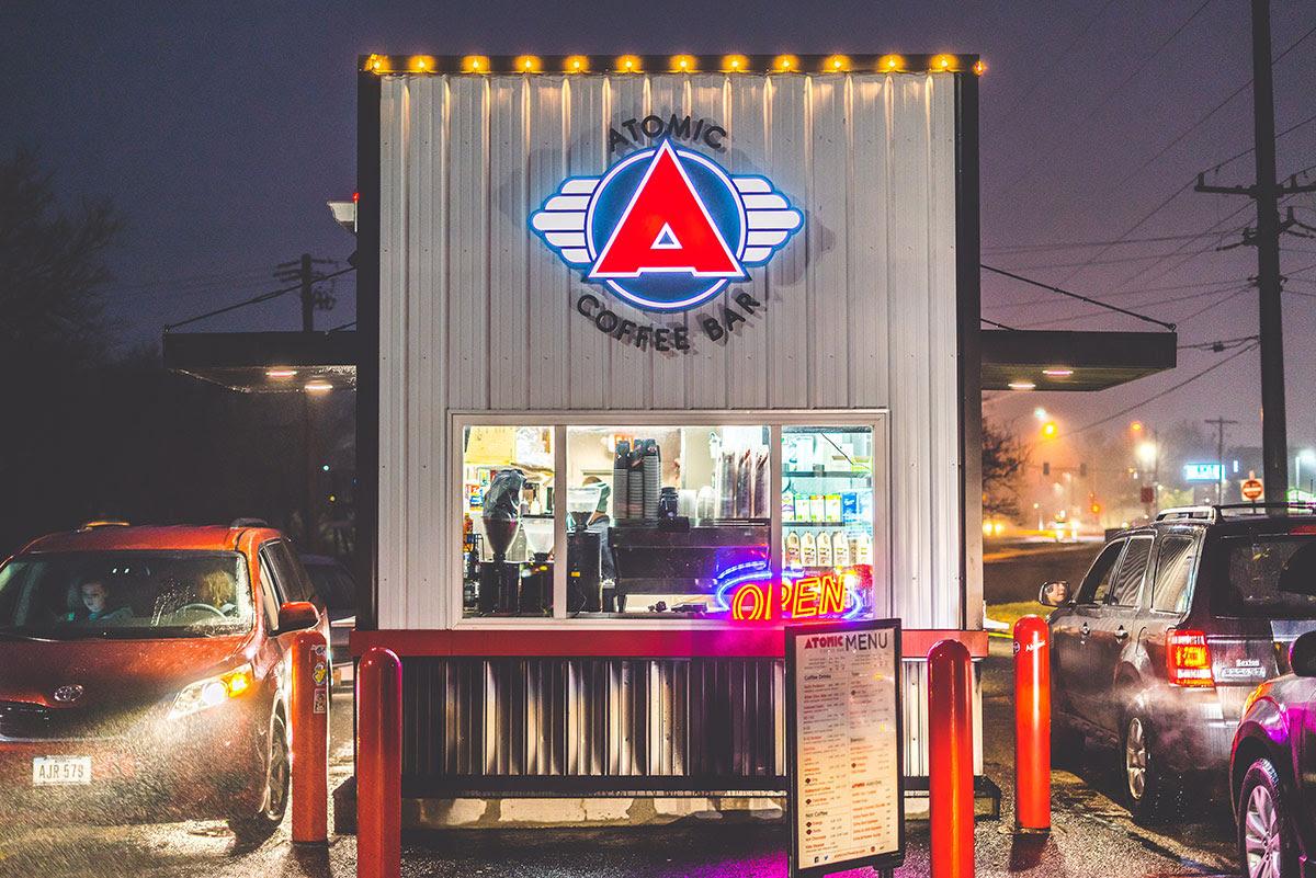 Atomic Coffee Bar - West Coast style drive-thru coffee ...