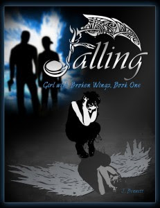 Falling: Girl With Broken Wings