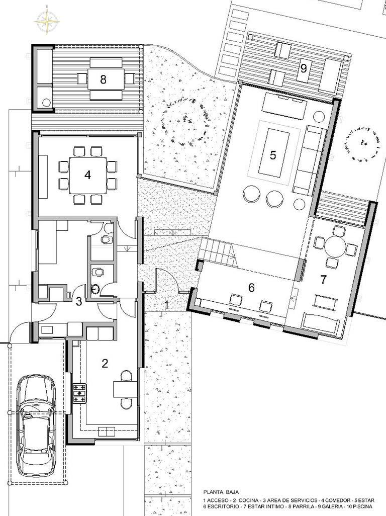 Casa en Los Castores - Sternberg Kohen Arqs