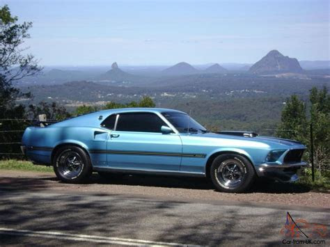 mustang fastback  big block