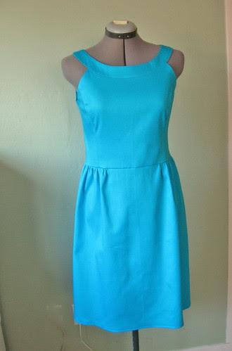 Trq pique dress front