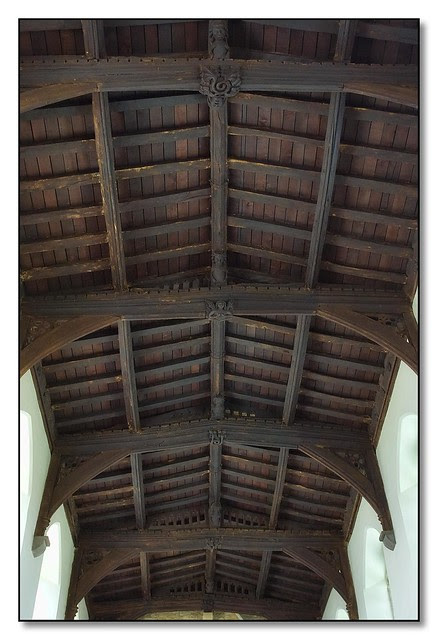 Nave Roof, St Andrews, Foxton, Leicestershire