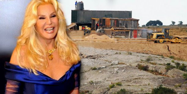 Susana Giménez con los papeles en regla, sigue la construcción de su mega mansión