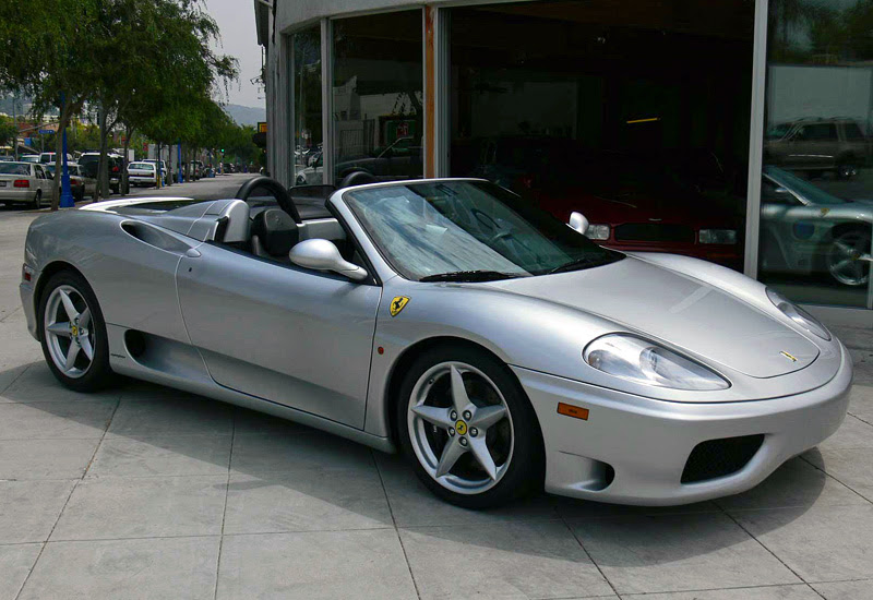 2000 Ferrari 360 Spider - specifications, photo, price, information, rating