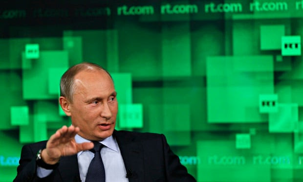 Russian President Putin  at Russia Today
