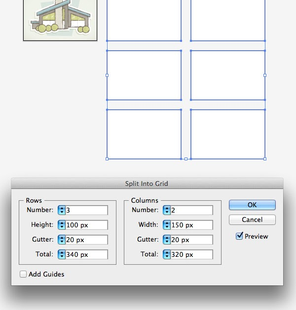 how to make a grid in illustrator