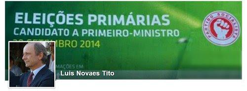 Primárias - LNT candidato a Primeiro-ministro