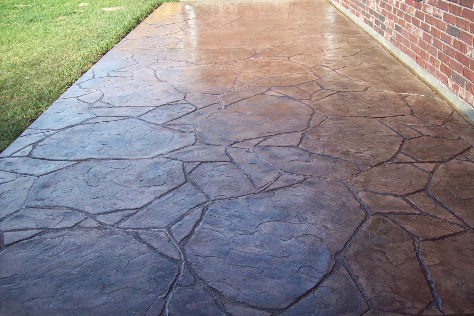 Stamped Concrete Houston - Build a Decorative Concrete Patio
