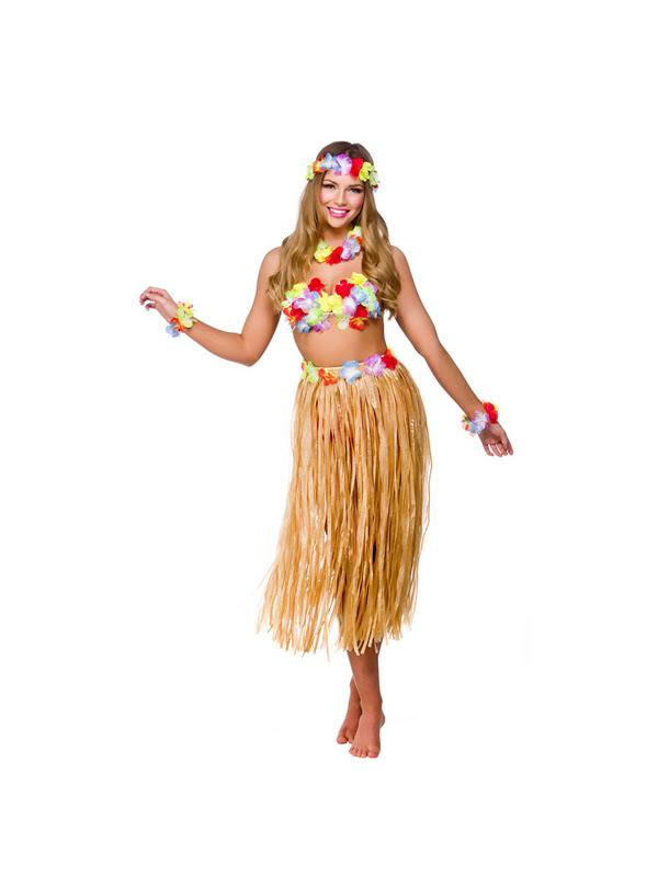 adult 1416 hawaiian party girl new fancy dress costume