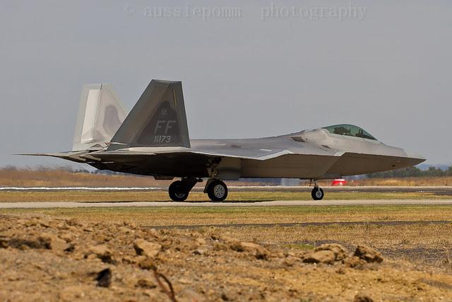 Lockheed Martin F-22A Raptor Avalon Air Show V
