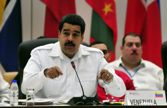 Intervención de Nicolás Maduro, presidente de Venezuela, en la Cumbre del ALBA-TCP sobre el Ebola en La Habana. Foto: Ladyrene Pérez/ Cubadebate.