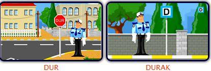 Trafik Işaretlerini öğreniyorum Animasyon Eğitim Için