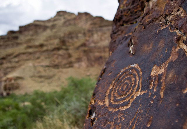 Detail of the rock art. Photo Credit