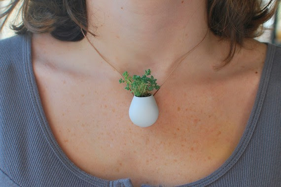 A Wearable Potted Plant