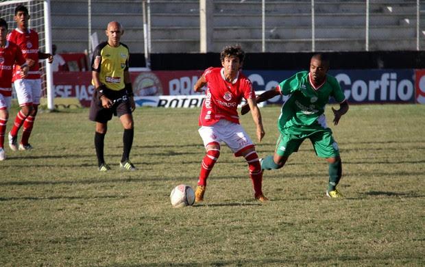 América-RN vence o Alecrim no Estádio Barretão, em Ceará-Mirim, pelo Sub-20 (Foto: Gabriel Peres/Divulgação)