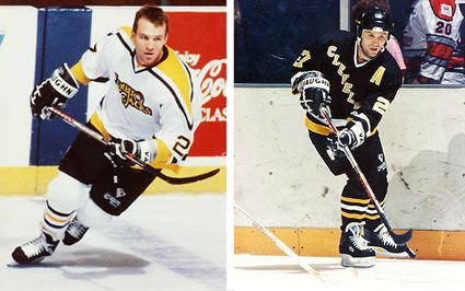 Dave Michaylu Cleveland Lumberjacks Penguins, Dave Michaylu Cleveland Lumberjacks Penguins