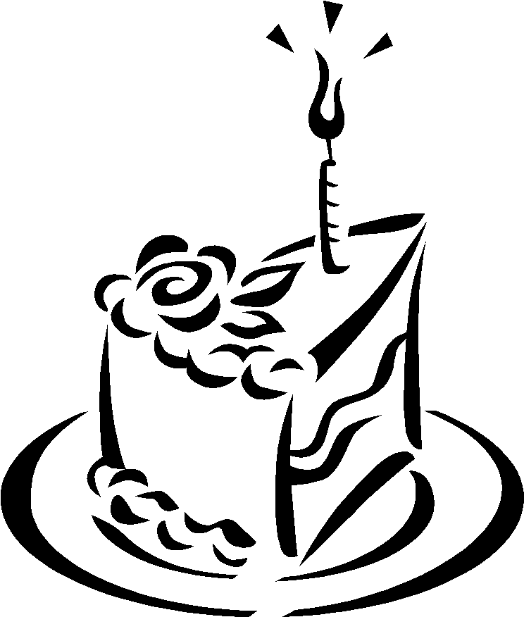 Part De Gâteau Danniversaire Paroles De Sidactrices Az Coloriage