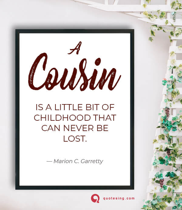 Cousin Quotes Funny Cousin Quotes Quotesing