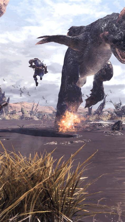 wallpaper monster hunter world screenshot  games