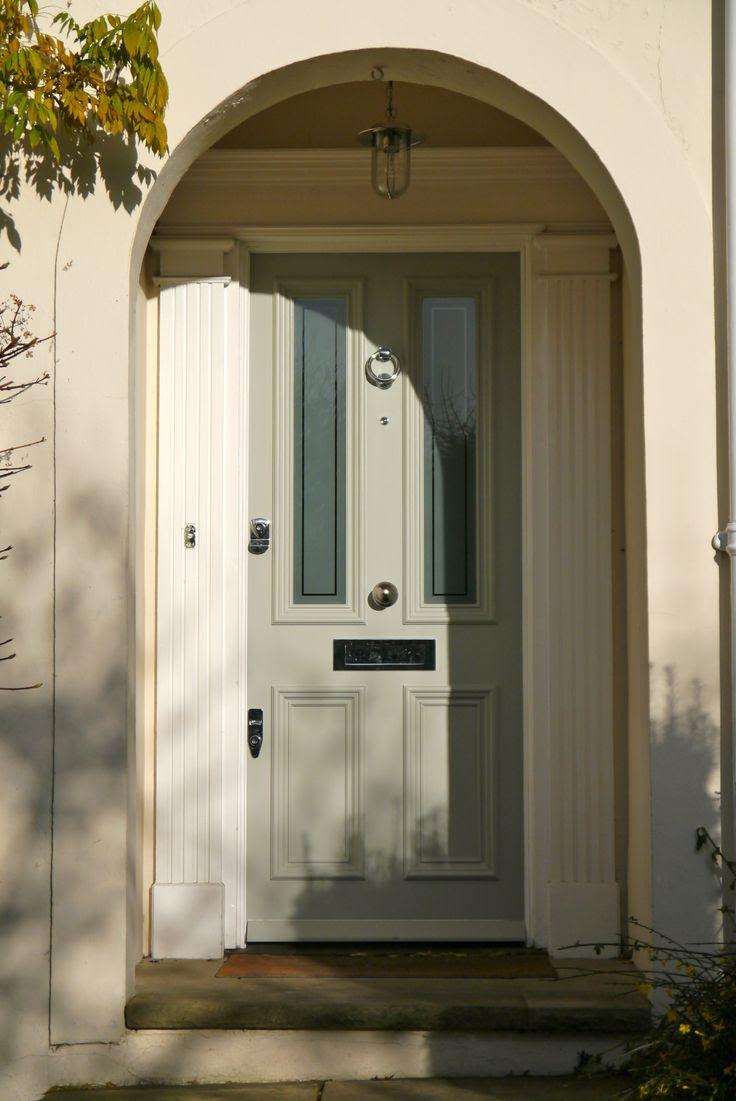 Farrow and Ball Lamp Room Grey front door