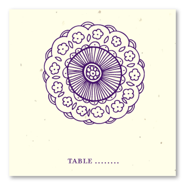 Sacred Colors Table Cards