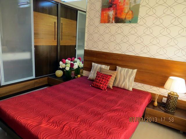 Master Bedroom -  Brookefield Willows, 2 BHK & 3 BHK Flats near Khadi Machine Chowk, Pisoli, Pune 411028 - Launching!