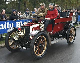 Entry 102: Panhard et Levassor, 1901, 8 HP, entrant: John Hickman