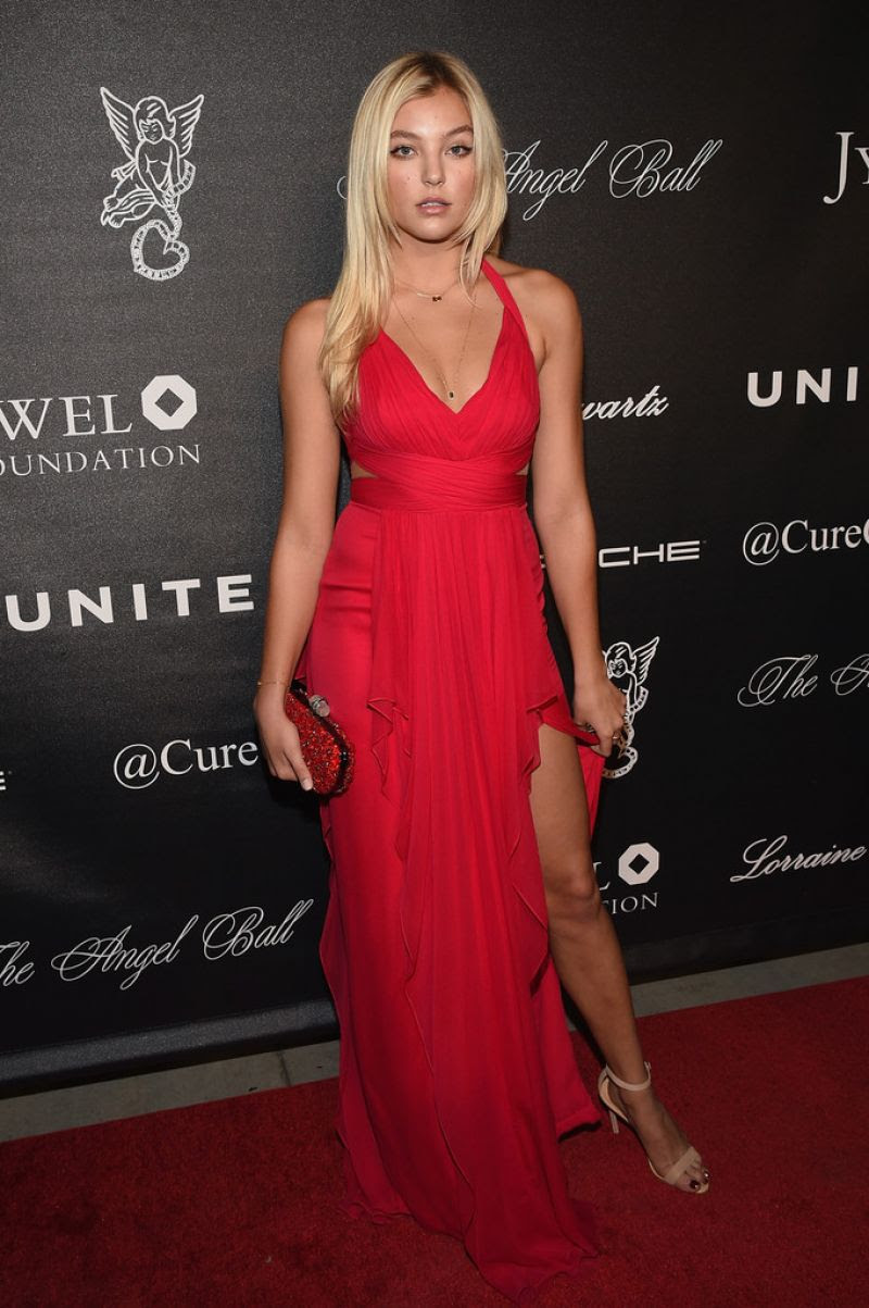 RACHEL HILBERT at 2015 Angel Ball in New York 10/19/2015