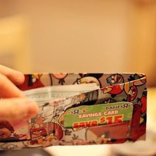 'duck' tape wallets!