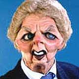 Thatcher: potty old bint
