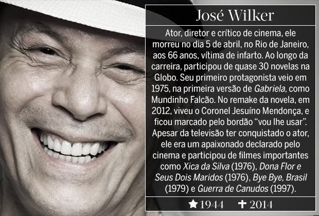 José Wilker (Foto: ARTE: EDUARDO GARCIA)