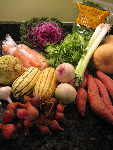 What's in CSA box #14