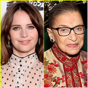 Felicity Jones to Play Ruth Bader Ginsburg in New Movie