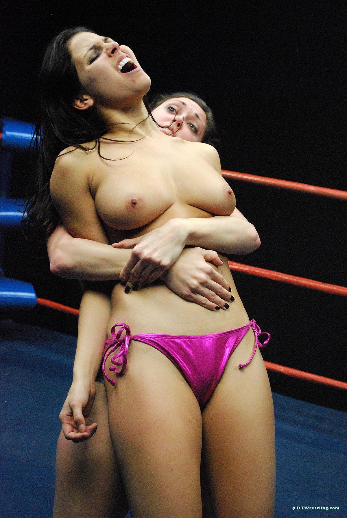 Wrestling nude women Catfight: 155