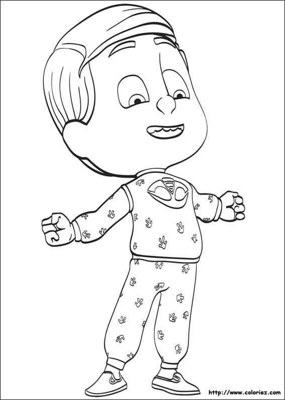 Coloriage Pyjamasques A Imprimer La Fabrique A Bonheur