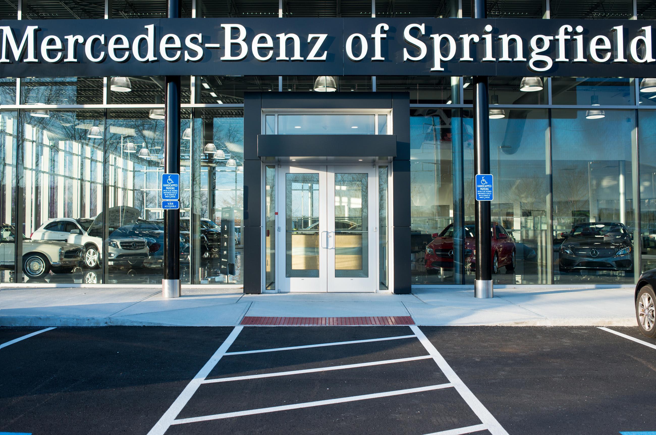 Mercedes Benz of Springfield   Custom Facilities
