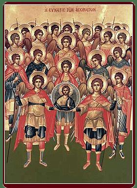 Αρχιμ. Ιωήλ Κωνστάνταρος: Οι προστάτες μας Άγγελοι