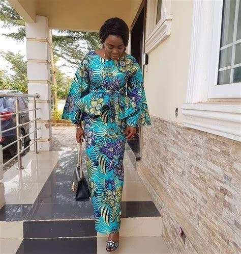 Ankara Styles Skirt and Blouse 2018 : Style 2   DeZango