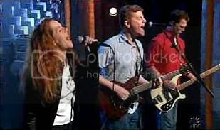 The New Pornographers performing 'Use It' on Late Night With Conan O'Brien