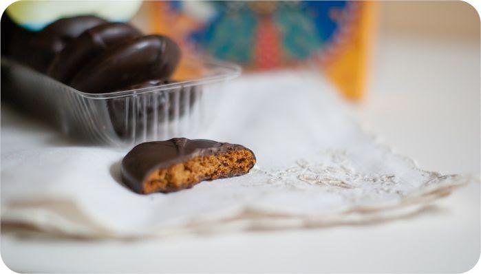 trader joe's dark chocolate triple ginger cookies review