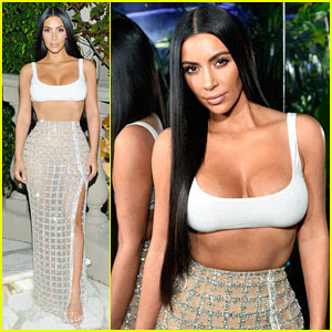 Kim Kardashian Steps Out In Style to Celebrate Balmain L.A Boutique Opening!