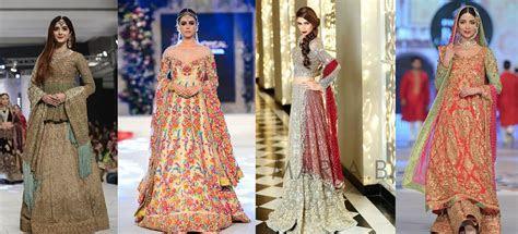 Most Popular Pakistani Bridal Dresses Styles