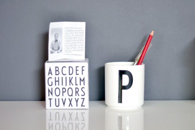 design letters letter cup arne jacobsen danish architect designer interior design home fashion blogger turn it inside out belgium blog post