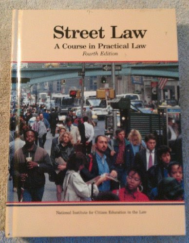 9780314681980 Street Law A Course In Practical Law Abebooks Arbetman Lee P O Brien