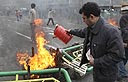 Opposition supporters protest in Iran (Photo: AP)