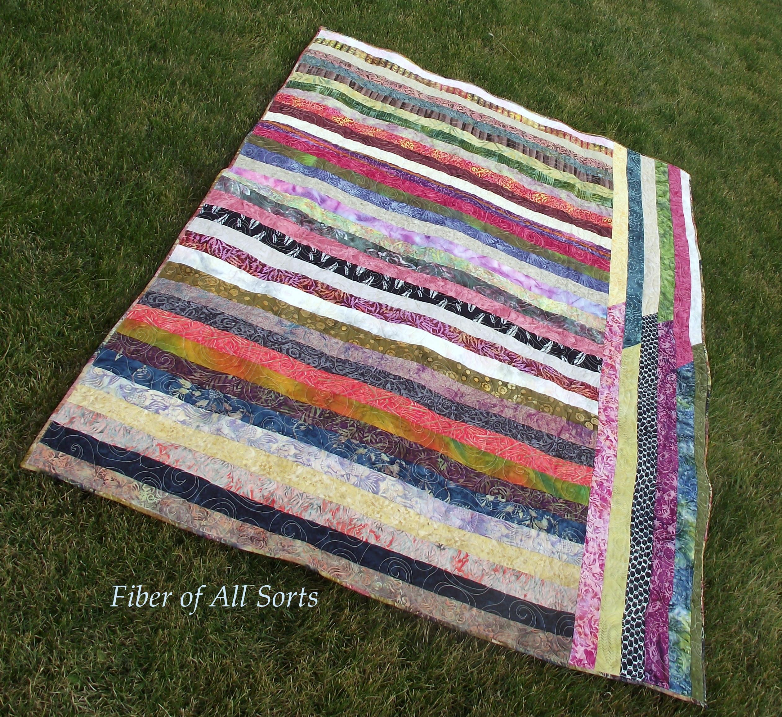 Front - Batik Strips