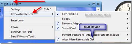 VMware-set-devices
